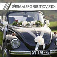 Comment décorer les voitures des invités pour un mariage?