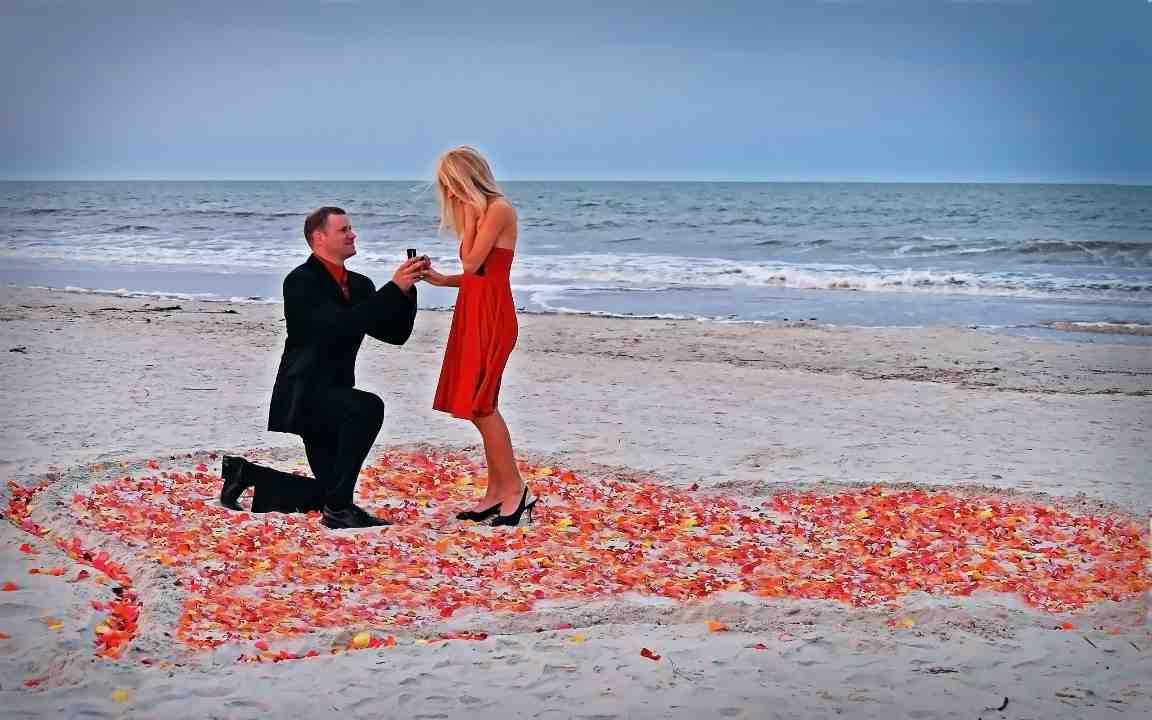 Comment demander à une femme de main de l'épouser?