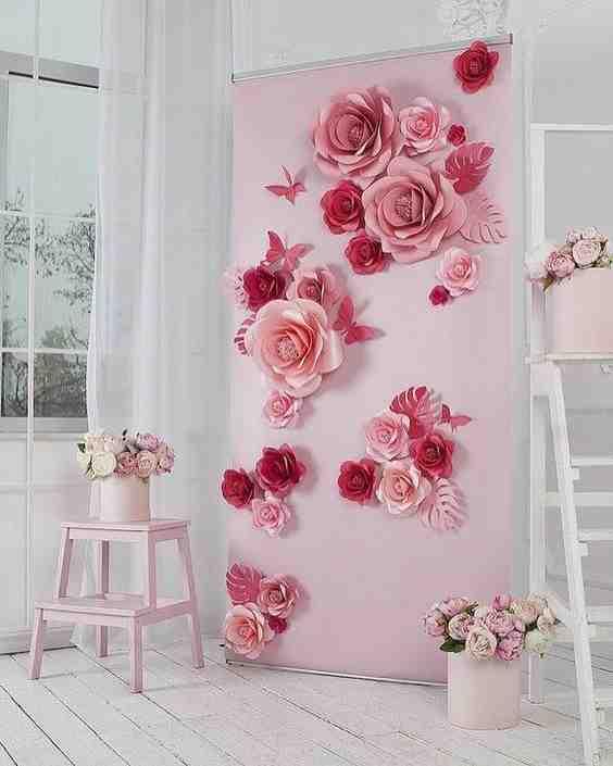 Comment faire de simples fleurs en papier crépon?