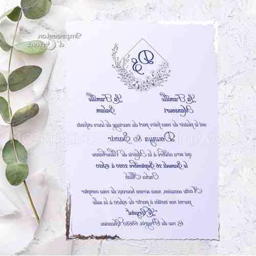 Comment faire des invitations de mariage?