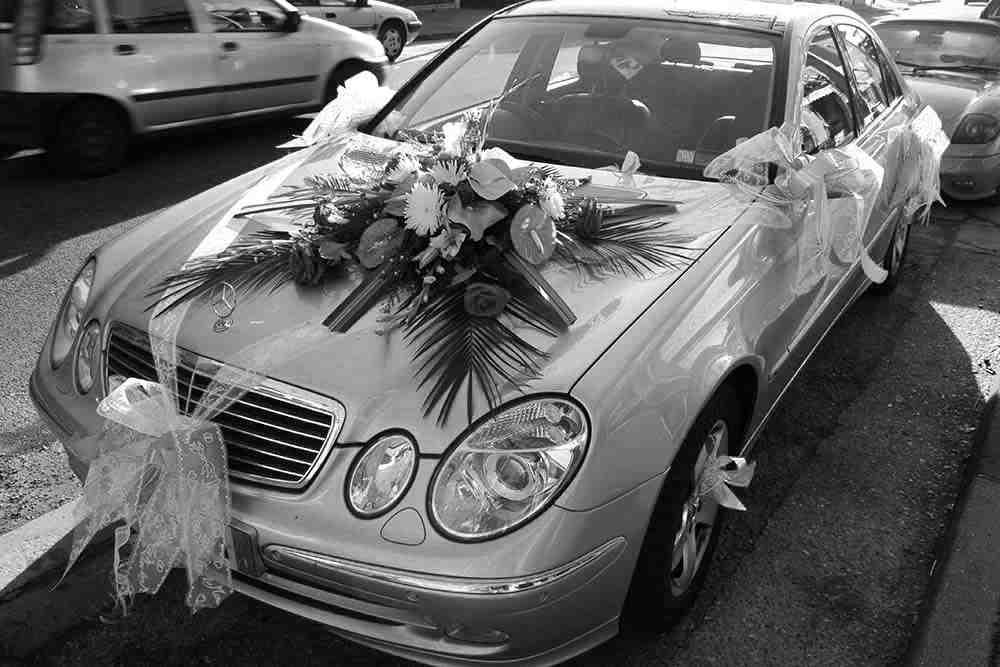 Comment faire un noeud de voiture de mariage?