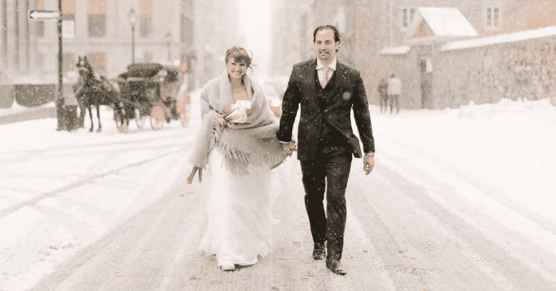 Comment habiller votre homme de mariage d'hiver?