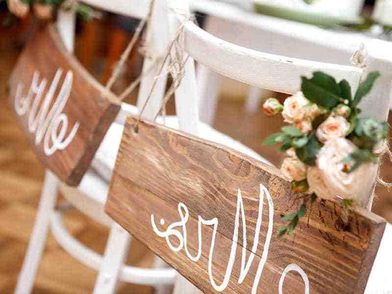 Comment organiser une fête de mariage?