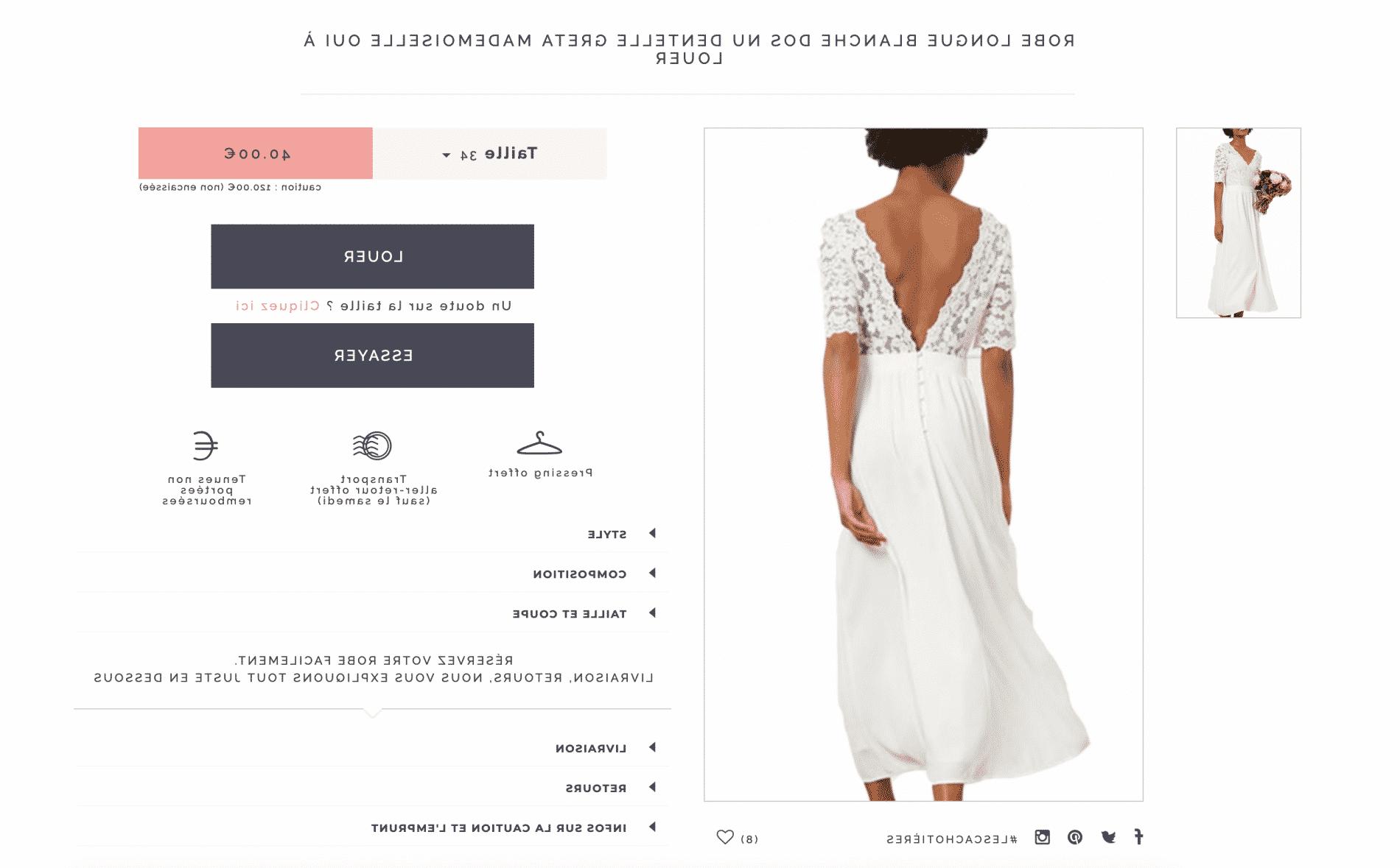 Comment s'habiller pour essayer une robe de mariée?