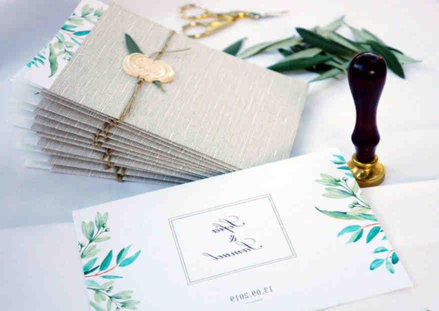 Où faire des invitations de mariage?