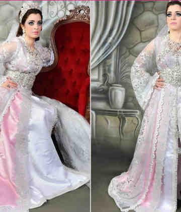 Pourquoi 7 robes de mariée marocaines?