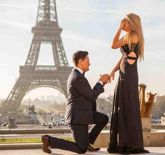Pourquoi demander à une femme de l'épouser?