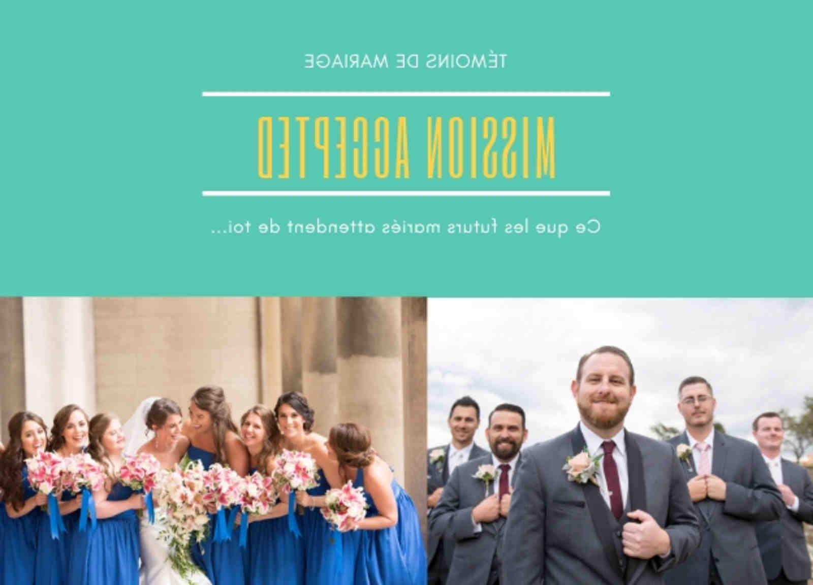Quel est le rôle du témoin de mariage?